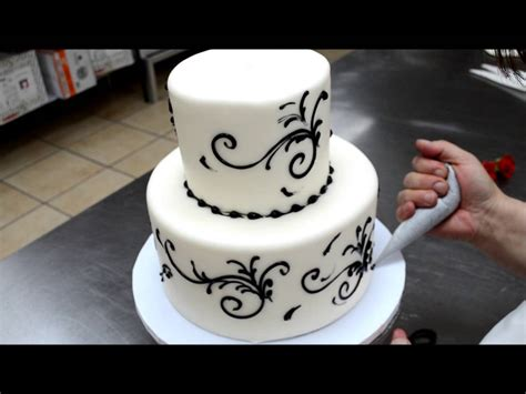 Easy To Make Wedding Cake 5 Min Simple Beautiful Wedding