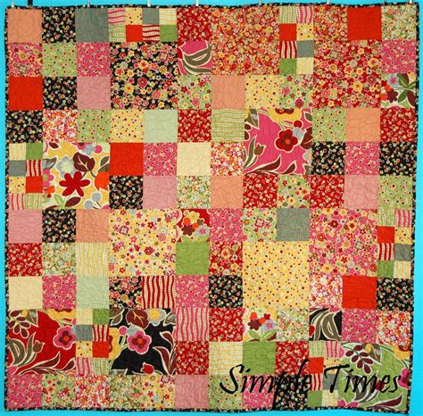 simple quilt patterns simple times quilt pattern s creative side