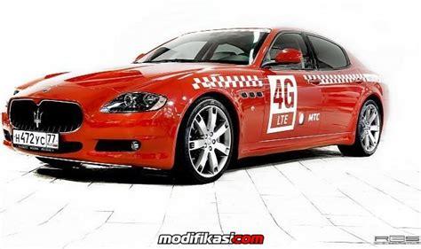 Modifikasi Maserati Quattroporte by Maserati Quattroporte Dan Chevy Camaro Jadi Taksi Di Rusia