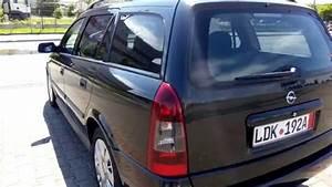 Opel Astra G Caravan 1 6i 16v  2001  Import Germania
