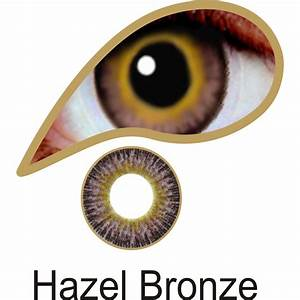 MesmerEyez Coloured Contact Lenses Infusionz - Hazel Bronze