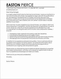 cover letter examples for resume social work cover With sample letter of resume to work
