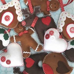 Weihnachtsdeko Aus Filz Selber Machen : weihnachtsdeko n hen anleitung weihnachtsbaumschmuck ~ Whattoseeinmadrid.com Haus und Dekorationen