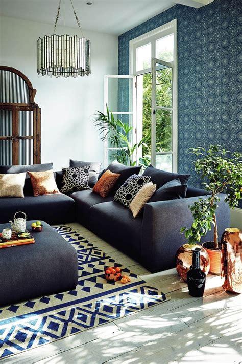 john lewis persia wallpaper slow living home inspiration