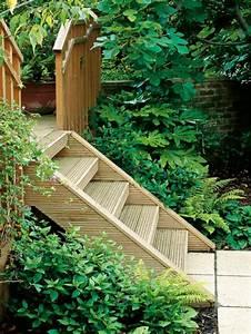 Holztreppe Außen Selber Bauen : gartentreppe selber bauen 40 super beispiele ~ Buech-reservation.com Haus und Dekorationen
