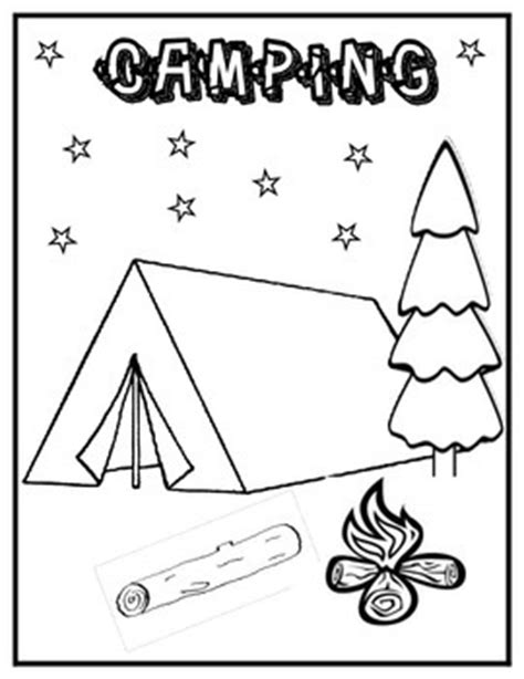 camping coloring pages getcoloringpages 673 | fpx3y2g