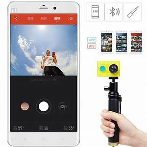 Xiaomi Yi 2 4k : xiaomi yi selfie stick monopod with bluetooth remote for ~ Jslefanu.com Haus und Dekorationen