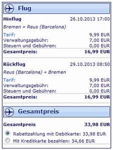 Flug Auf Rechnung : barcelona kurztrip billig ryanair flug f r 15 hoteltipp ~ Themetempest.com Abrechnung