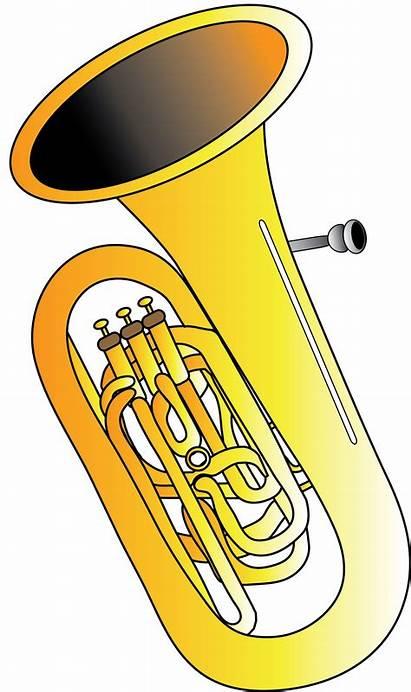 Tuba Clipart Horn Snowflake Chubby String Transparent