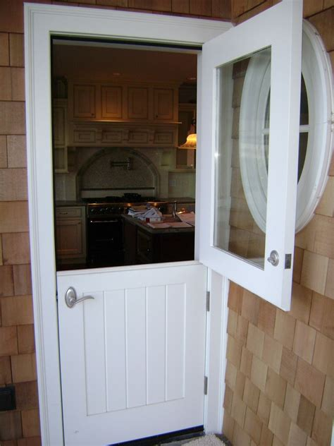 Hand Made Dutch Doors by Lacey Door & Millwork
