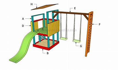 Playground Build Building Plans Playset Diy Howtospecialist