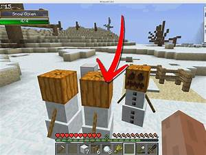 How to Build a Snow Golem in Minecraft: 7 Steps (with ...
