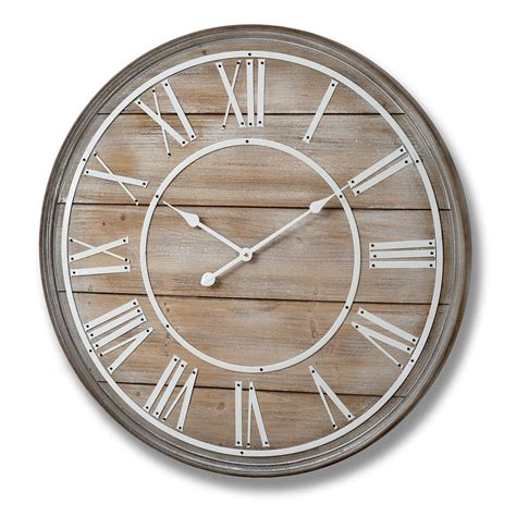 large wooden wall clock cm bedroom furniture direct