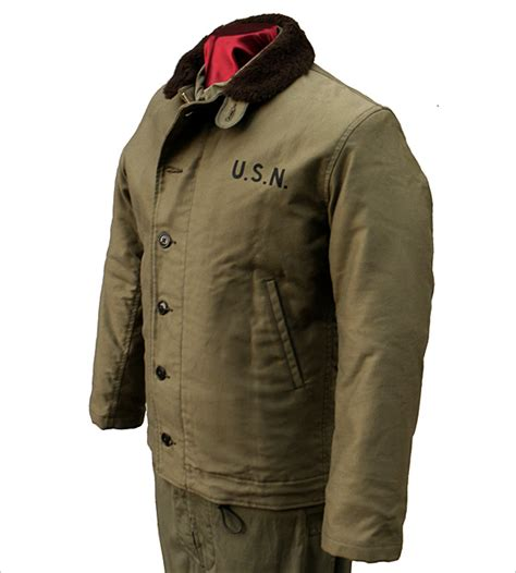 N1 Deck Jacket Reproduction by Wear Leather Coat Company N 1 Deck Jacket By The