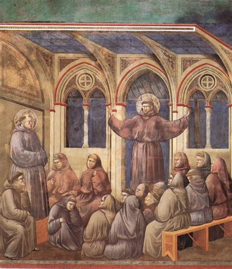 st francis of assisi birth date file giotto legend of st francis 18 apparition at arles jpg wikimedia commons