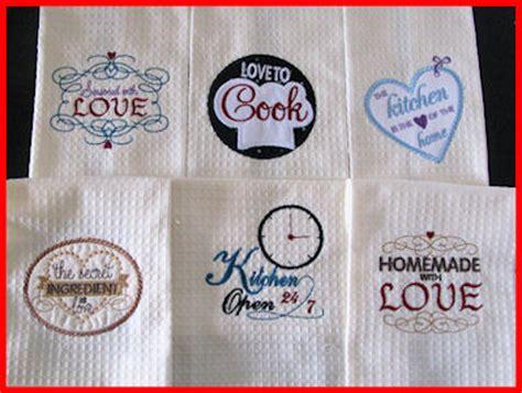 kitchen embroidery designs kitchen labels applique machine embroidery design 1596