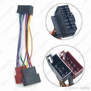 2020 Car Radio Cd  Dvd Stereo Iso Wiring Harness Adapter
