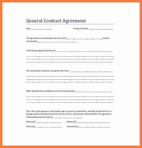 contract agreement template marital settlements