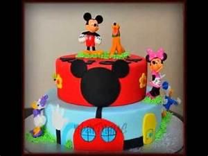 Mickey Mouse Geburtstag : kreative mickey mouse geburtstag kuchen design deko ideen youtube ~ Orissabook.com Haus und Dekorationen