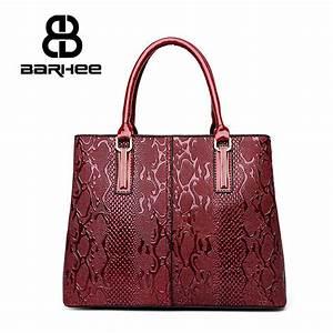 BARHEE Luxury Design Women Handbag Patent Leather 3D ...