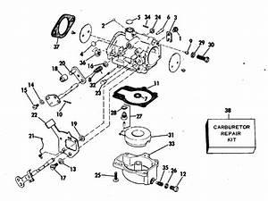 Johnson Carburetor Parts For 1978 55hp 55el78s Outboard Motor