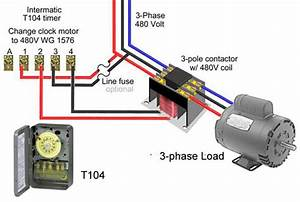 3 Phase Contactor Coil Wiring Diagram