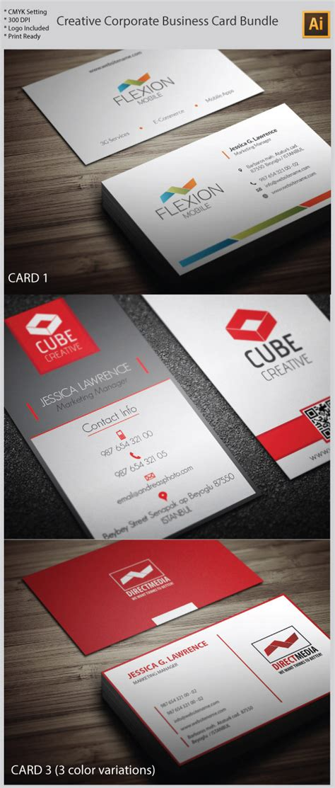 business card template ai 15 premium business card templates in photoshop illustrator indesign formats idevie