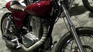 Ryca Motorcycles Suzuki Savage Cafe Racer Conversion