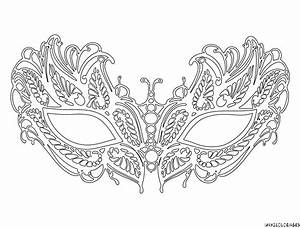 coloriage masque venitien lafayette grande image mixed With masquerade mask template for adults