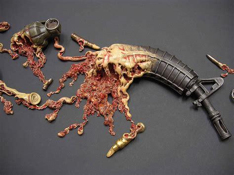 guns  gore perfectly illustrated  artist johnson