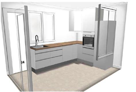 meuble pour separer cuisine salon séparer une cuisine du salon en conservant la lumière 4