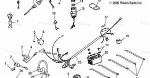 31 Polaris Sportsman 90 Parts Diagram