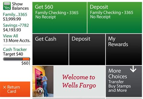 Get Your Wells Fargo Rewards At The Atm