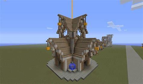 Beautiful Elven Buildings Minecraft Project