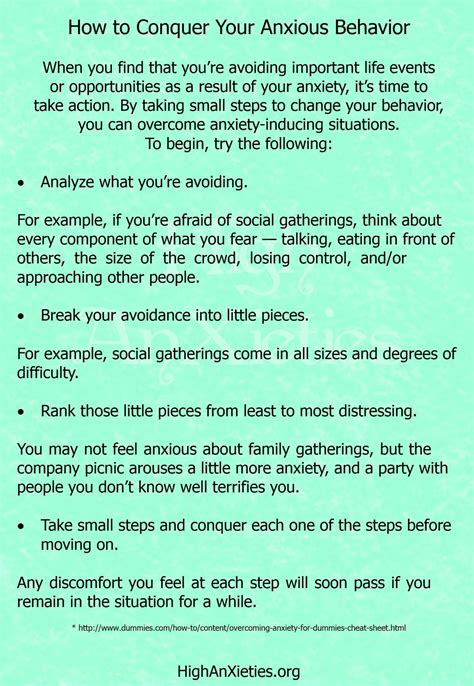 coping skills  anxiety worksheets