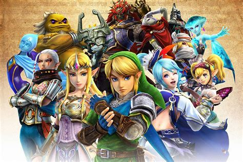 The Legend Of Zelda All Characters Poster Legend Of
