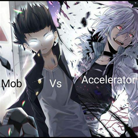 Accelerator Anime Wallpaper - mob vs accelerator anime amino