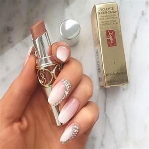 acrylic nails, beautiful, cute, diamond, diamonds - image ...