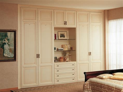 Classic Cupboards by Modular Wardrobe With Open Compartment Vimercati Classic