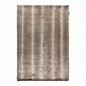 tapis fausse fourrure marron feel ligne pure 120x200 With tapis ligne pure