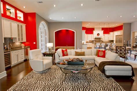 Modern Retro Interior   Contemporary   Living Room