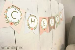 Free Printable DIY Letter Banners