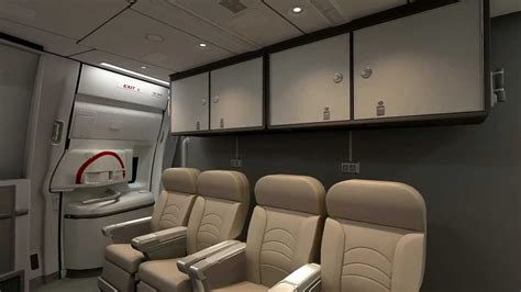 Boing 777 Interior by Interior Of The Boeing 777 Cargo 3d Animation Made By