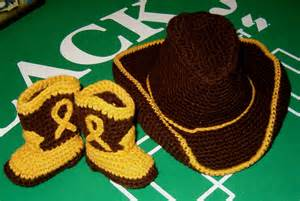 Free Crochet Cowboy Hat Pattern for Babies