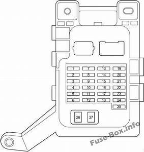 Fuse Box Diagram  U0026gt  Toyota Highlander  Xu20  2001