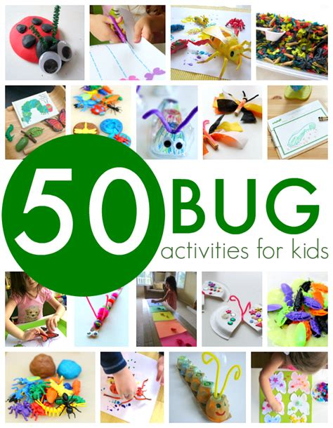 50 bug activities for no time for flash cards 552 | bug activities