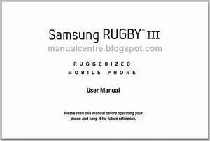 Samsung Rugby Iii Manual