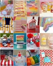 Kids Carnival Birthday Party Ideas