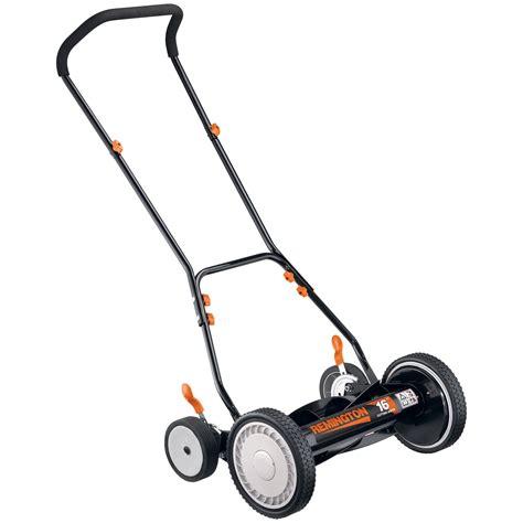reel mowers  energy efficient mowing gear  sears