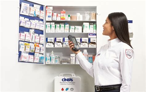 cintas first aid cabinet workplace first aid and safety services cintas